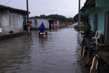 Cuatro barrios de La Victoria afectados por creciente del río Cauca