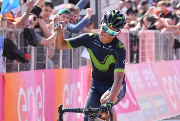 Nairo Quintana ganó la novena etapa del Giro de Italia y se puso la 'Maglia Rosa'