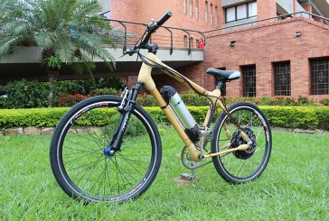 Bicicleta eléctrica de bambú: transporte alternativo y amigable con el ambiente