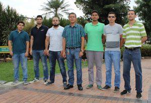 En la fotografía, algunos integrantes del semillero.