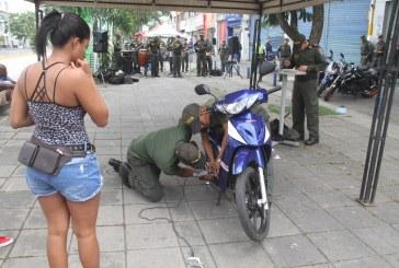 Inicia campaña de la Policía para prevenir el hurto de motocicletas en Cali
