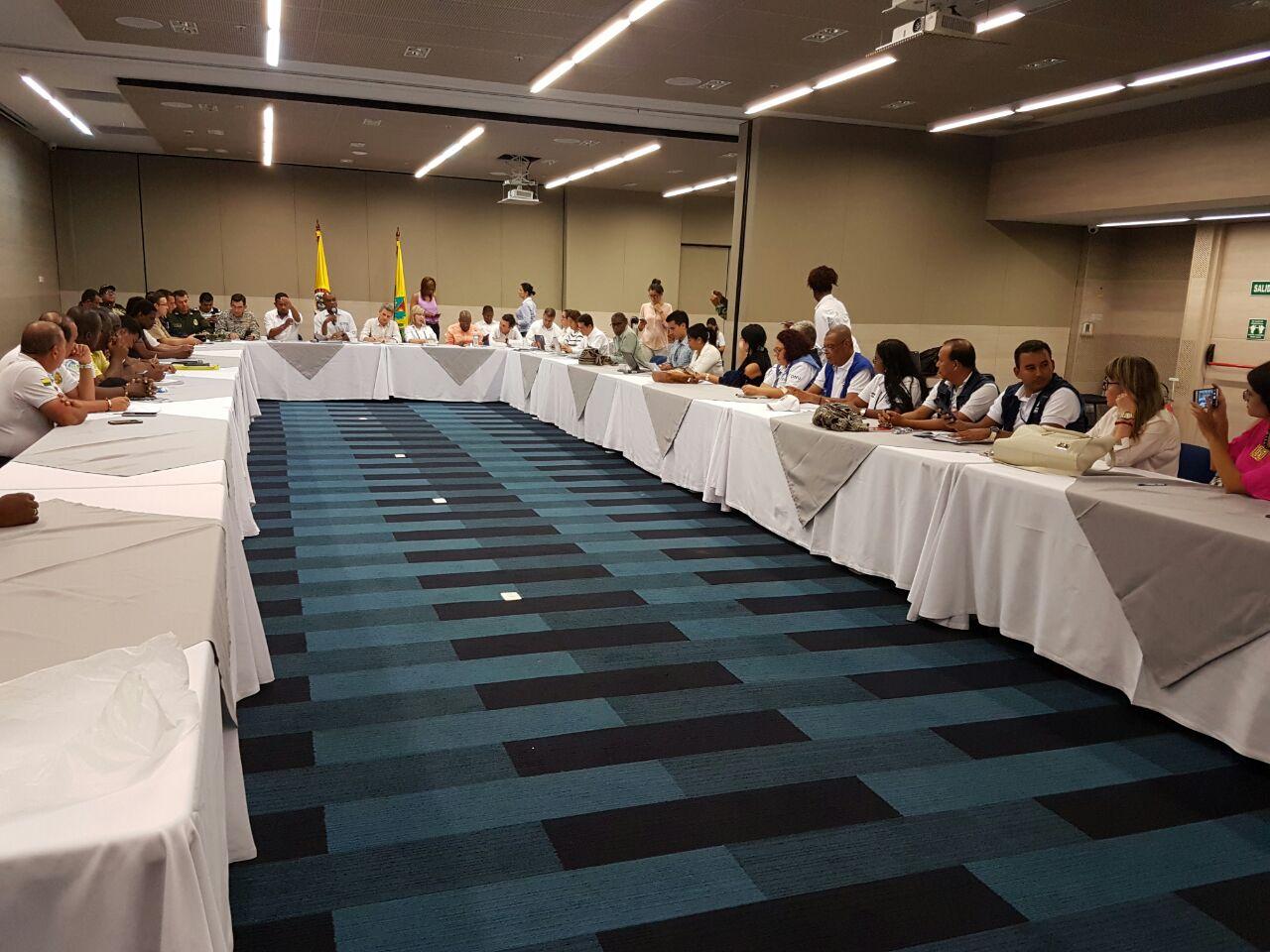 Líderes del paro en Buenaventura se pararon de la mesa