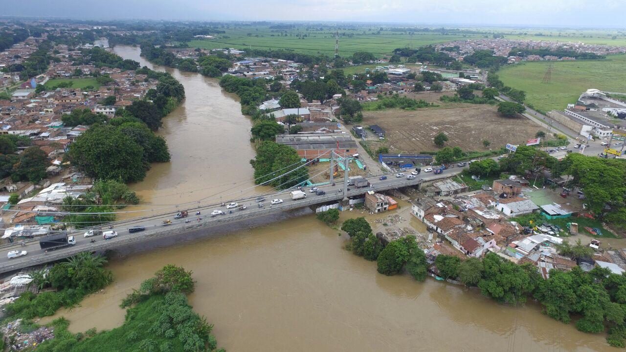 Autoridades en Cali mantienen alerta roja por nivel del río Cauca