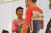 Nairo Quintana, flamante subcampeón del Giro de Italia, Doumoulin fue el campeón