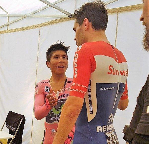 Nairo Quintana es el flamante subcampeón del Giro de Italia tras espectacular crono