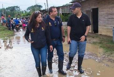 Comienzan a entregar ayudas para los damnificados por creciente del río Cauca
