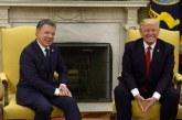 """""""Gobierno de EE.UU. apoyará estrategia antidrogas en Colombia"""": Trump"""