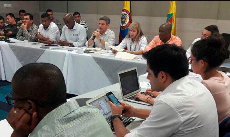 Avanzan reuniones entre manifestantes de Buenaventura y el Gobierno Nacional