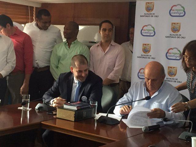 Gustavo Jaramillo asumió este jueves como nuevo gerente de Emcali