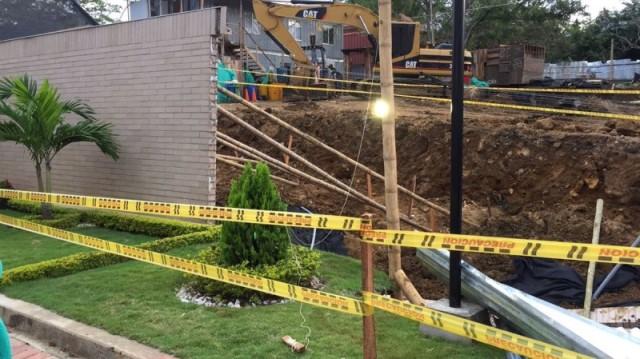 Habitantes de condominio en Pance temen que sus viviendas se desplomen