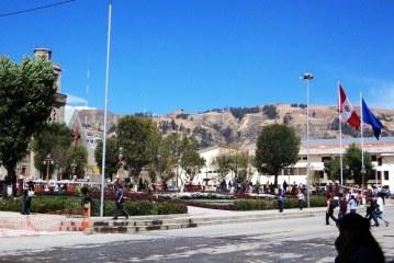 Huaraz, ciudad andina, capital de la provincia de Áncash