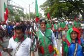 Sin novedades, comunidades indígenas del Cauca marcharon por las calles de Cali