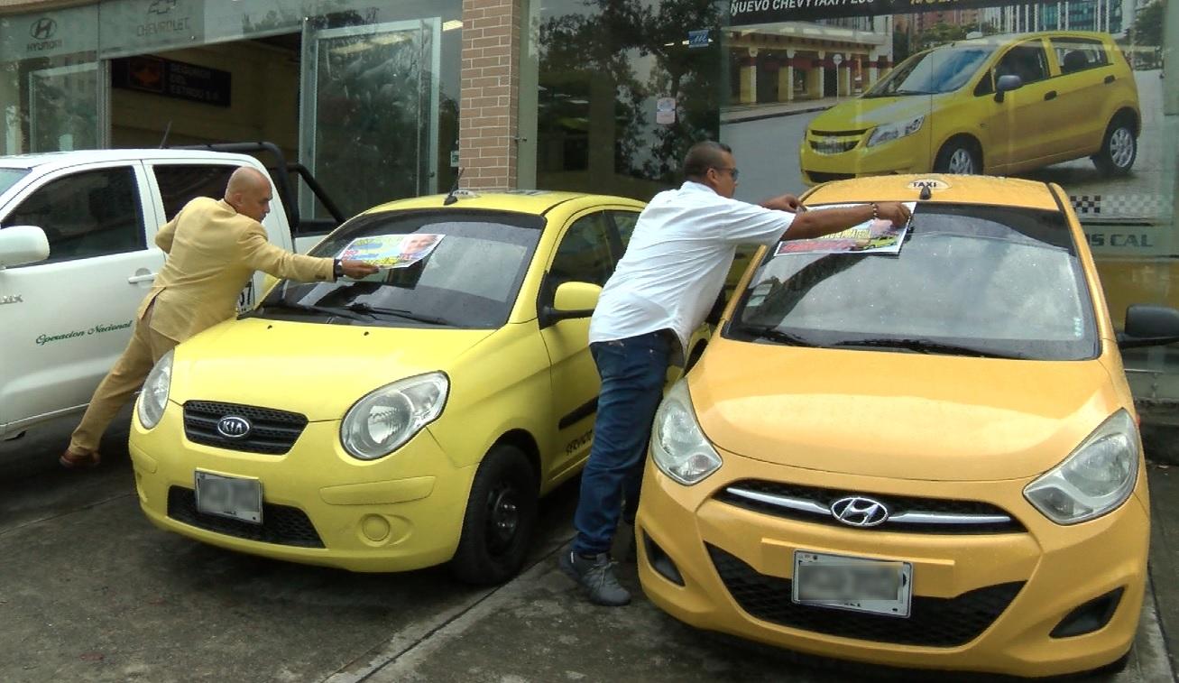 Taxistas caleños saldrán nuevamente a protestar contra el transporte ilegal