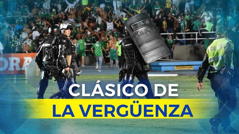 Las redes sociales narraron el 'clásico de la vergüenza' en el Pascual Guerrero