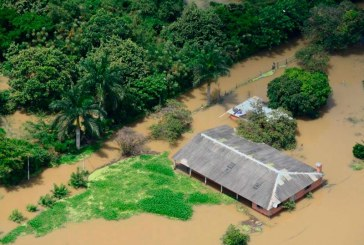 Sobrevuelo mostró devastadoras imágenes de inundaciones en el Valle