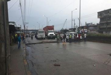 Siguen congelados sectores económicos en el tercer día de paro cívico en Buenaventura