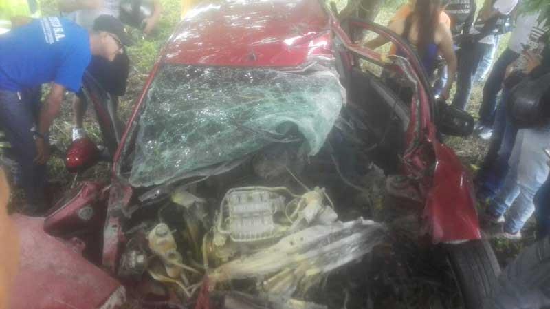 Una persona muerta deja aparatoso accidente en la recta Cali – Palmira