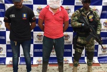 Capturado alias Lalo, presunto sicario de la banda delicuencial 'Los Nuevos Elenos'