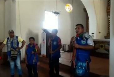 Campesinos, indígenas y la unión afro se tomaron pacíficamente la iglesia de Jamundí