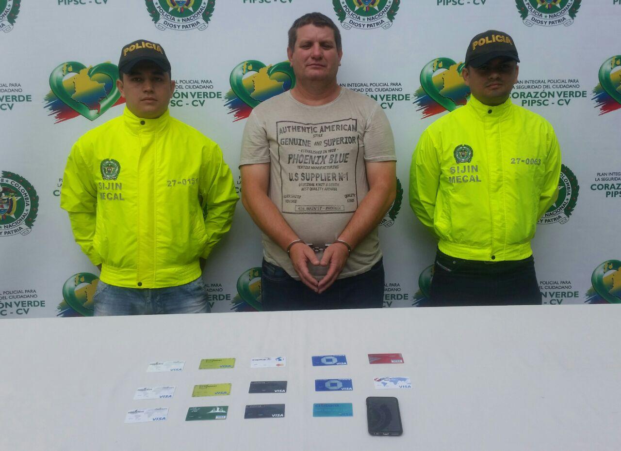 Capturan a alias El Cubano, dedicado a estafar a través de tarjetas clonadas