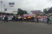 Magisterio protestó nuevamente en las calles de Cali cuando se cumplen 34 días de paro
