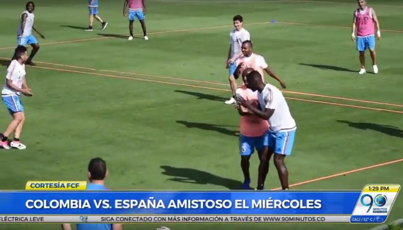 Camilo Vargas será suplente de David Ospina en amistoso contra la selección española