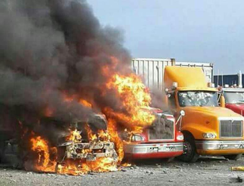 Se complica orden público en Buenaventura: en 24 horas queman cuatro camiones