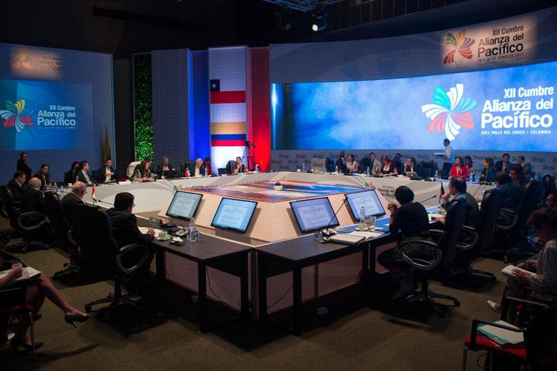 Cuatro presidentes llegarán hoy a Cali para la XII Cumbre de la Alianza del Pacífico
