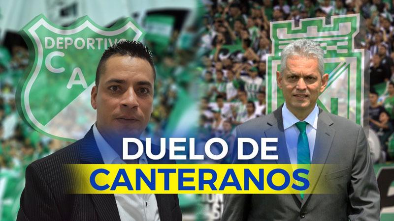 Deportivo Cali – Atlético Nacional: final de técnicos vallecaucanos canteranos