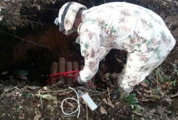 Ejército Nacional destruyó contenedor de explosivos en Tumaco
