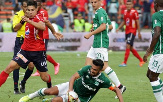 Deportivo Cali y Medellín se enfrentan en el partido de ida de las semifinales de Copa