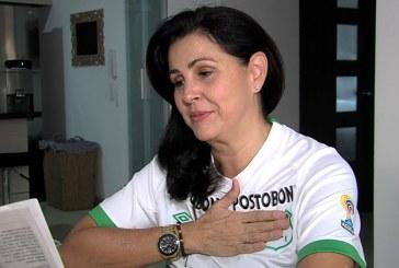 Madre del ídolo verdiblanco sueña con una noche de 'poesía' en Palmaseca