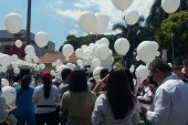 Con plantón en Escuela Nacional del Deporte exigen justicia por muerte de fisioterapeuta