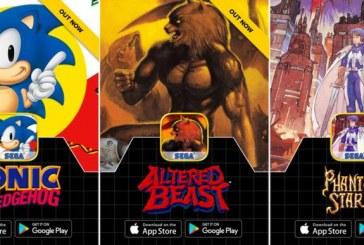 SEGA te regala cinco de sus videojuegos clásicos para tu teléfono celular