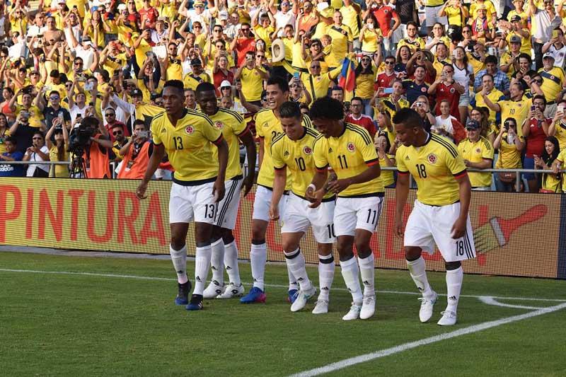 Selección Colombia derrotó 4-0 a Camerún en partido amistoso en España