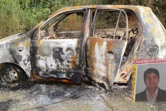 Taxista de Cali desaparecido fue encontrado incinerado en Miranda, Cauca
