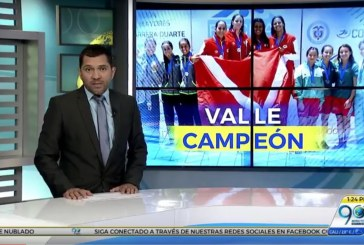 Valle campeón en interligas de natación y es favorito para los juegos nacionales 2019