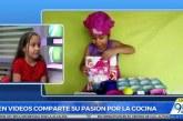 Caleñita de 5 años causa sensación con sus recetas en canal de Youtube