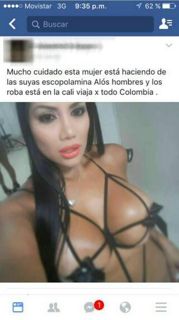 Modelo Katherin Martínez denuncia amenazas en injurias en su contra
