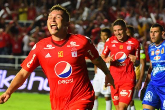 América de Cali venció 3-0 al Tolima en partido por la Liga Águila