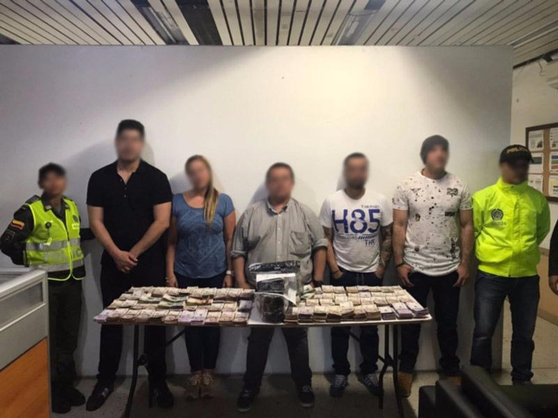 Escondían más de $1.000 millones: la Policía los capturó en el Bonilla Aragón