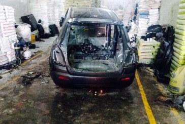 Desarticulan banda delincuencial que desguazaba vehículos hurtados en Cali
