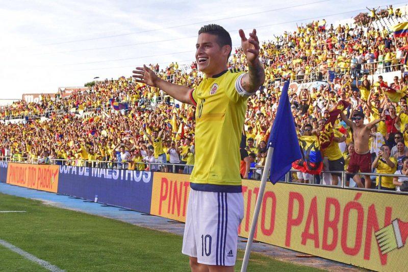 Colombia empató con Brasil en Barranquilla y quedó tercera de la eliminatoria