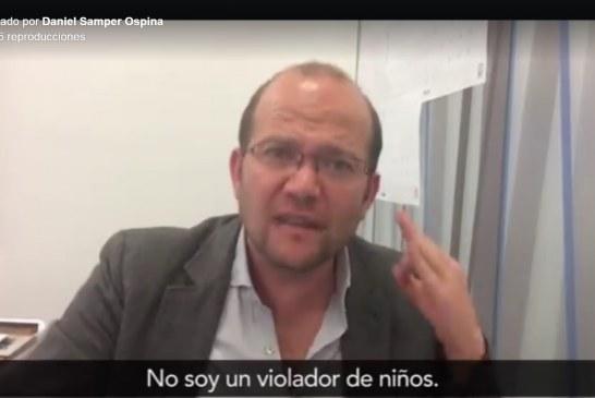 No soy un violador de niños. Tendrá que sustentar sus acusaciones: Samper a Uribe