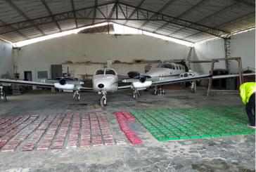 Autoridades incautaron 852 kilos de cocaína en aeropuerto El Caraño de Quibdó