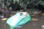 Incautan sumergible eléctrico en aguas del río San Juan en el Chocó