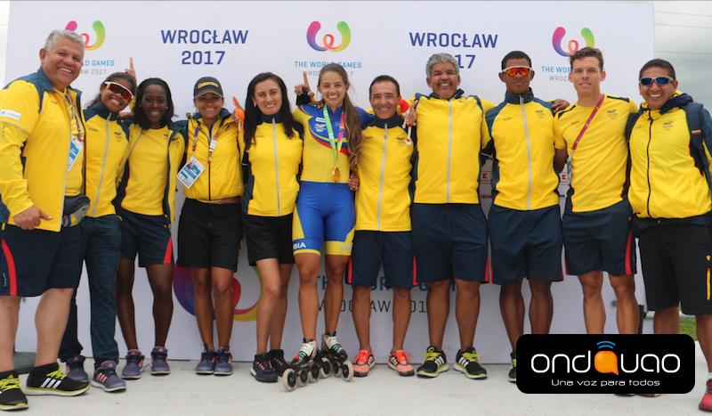 Colombia y su mejor actuación en Juegos Mundiales de Polonia