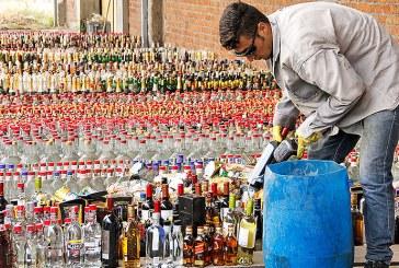 En 2017 autoridades han incautado 7.000 botellas de licor adulterado y de contrabando