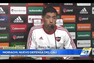 Nuevo defensa argentino llega al Deportivo Cali a reemplazar a Germán Mera