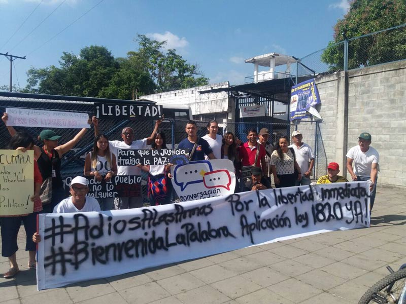 Pablo Catatumbo pidió que se cumpla ley de amnistía para presos en Villahermosa
